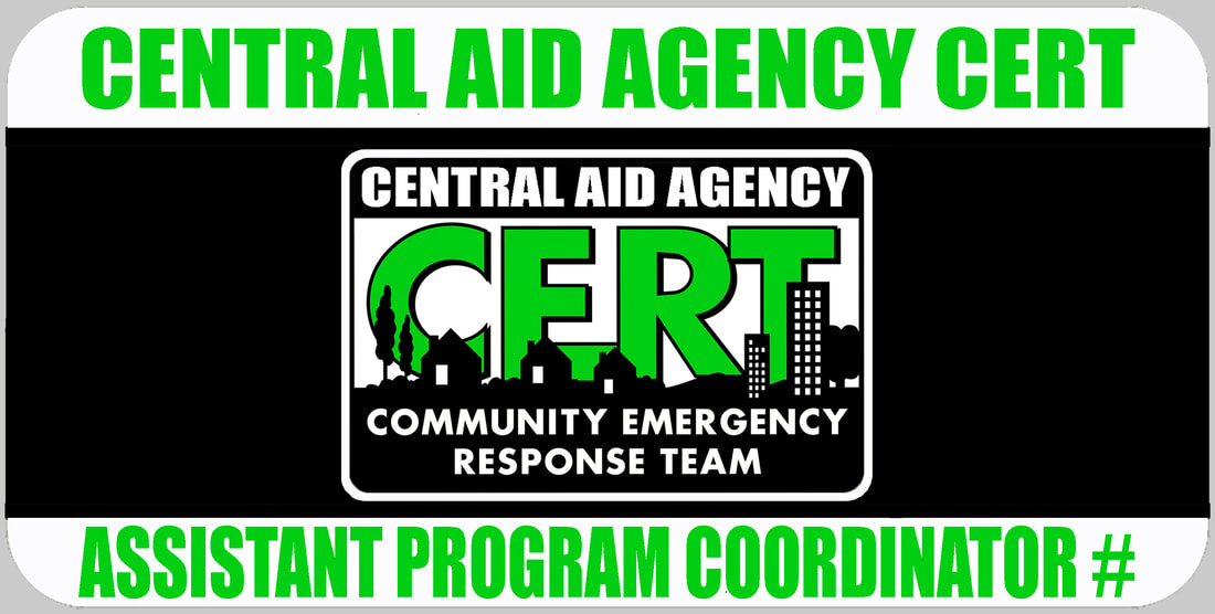 Assistant CERT Program Coordinator Badge