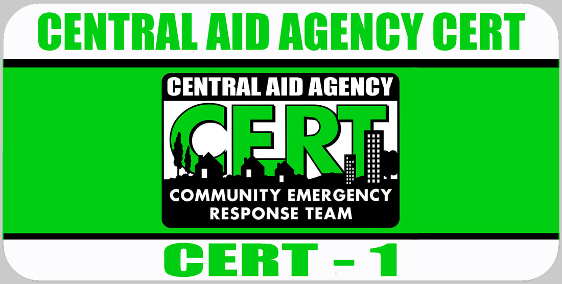 CERT 1 Rank Badge