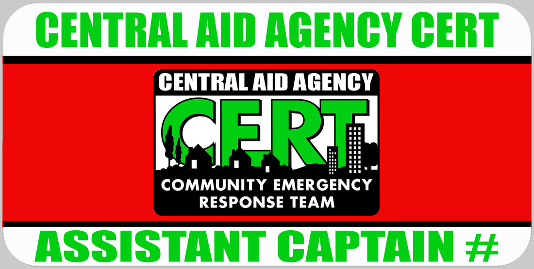 Assistant CERT Captain Badge