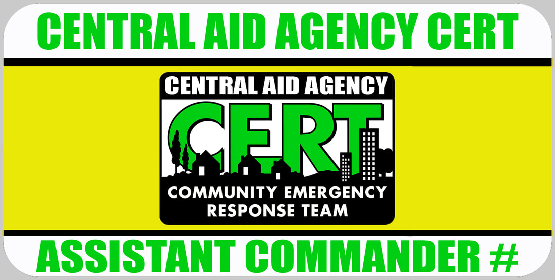 Assistant CERT Commander Badge