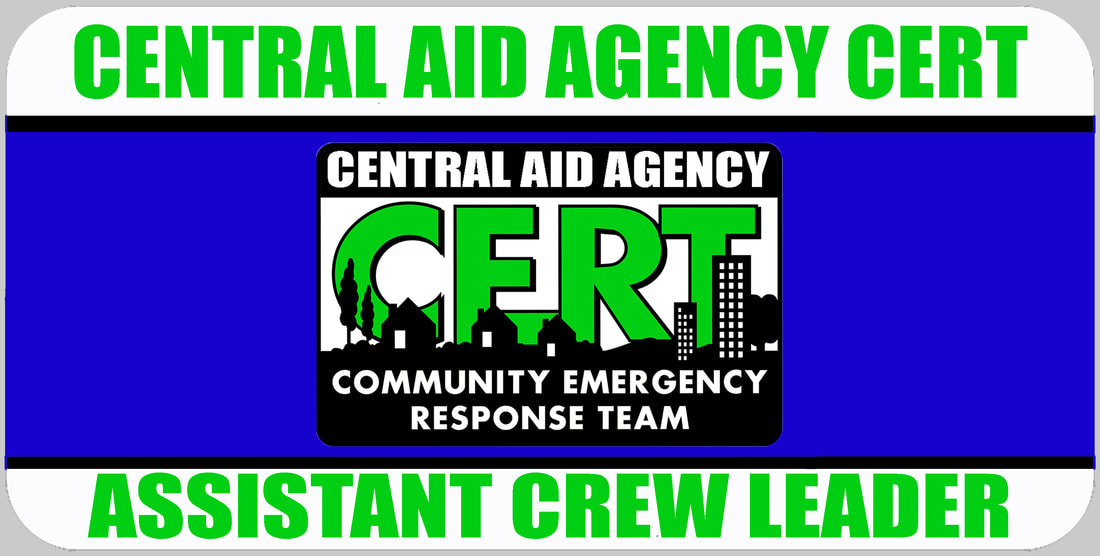 Assistant CERT Crew Leader Badge