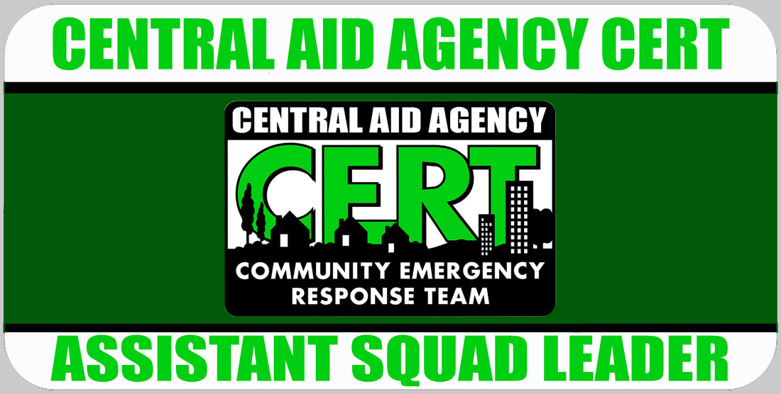 Assistant CERT Squad Leader Badge