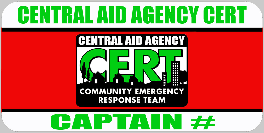 CERT Captain Badge