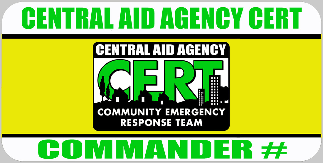 CERT Commander Badge