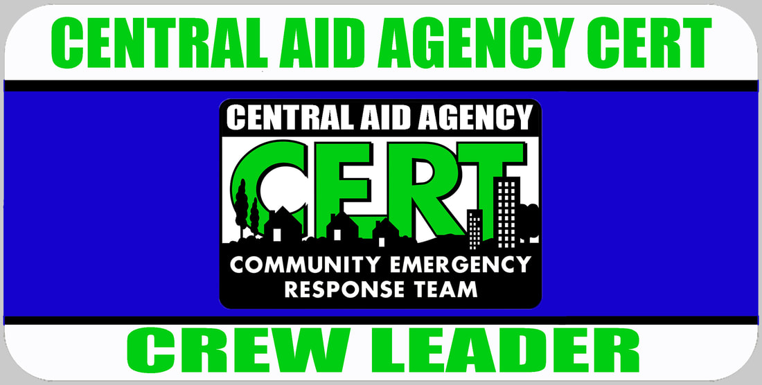CERT Crew Leader Badge