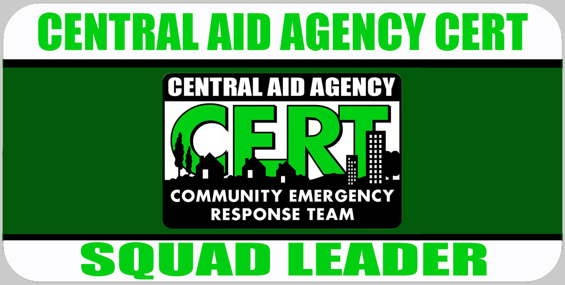 CERT Squad Leader Badge