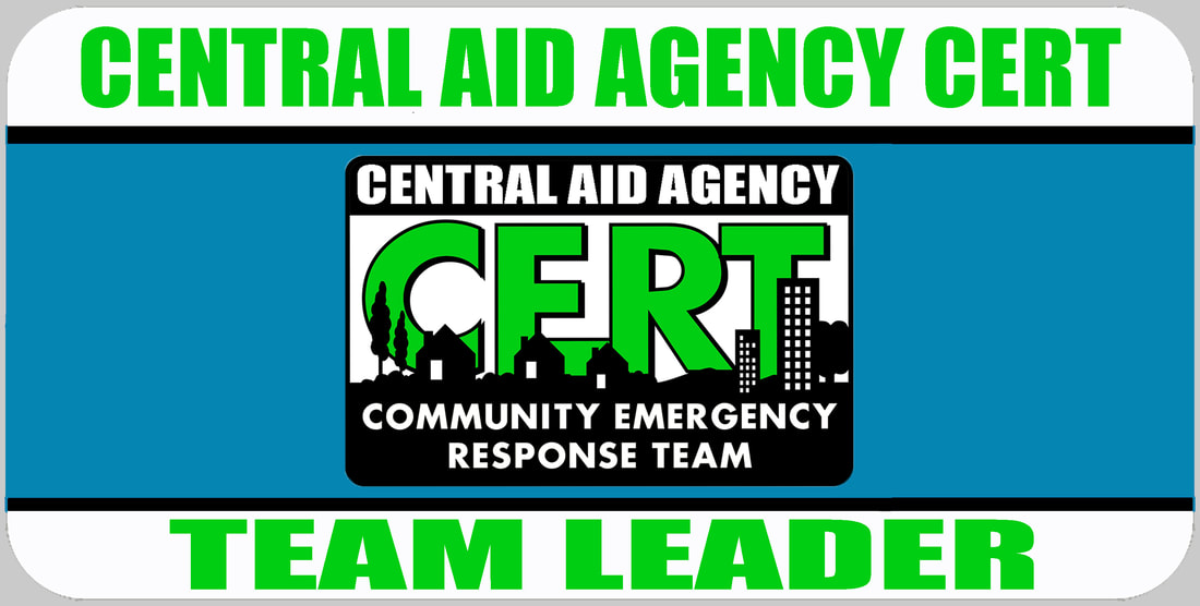 CERT Team Leader Badge