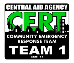 CERT Team 1 Unit Emblem
