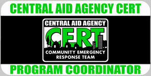 CERT Program Coordinator Badge