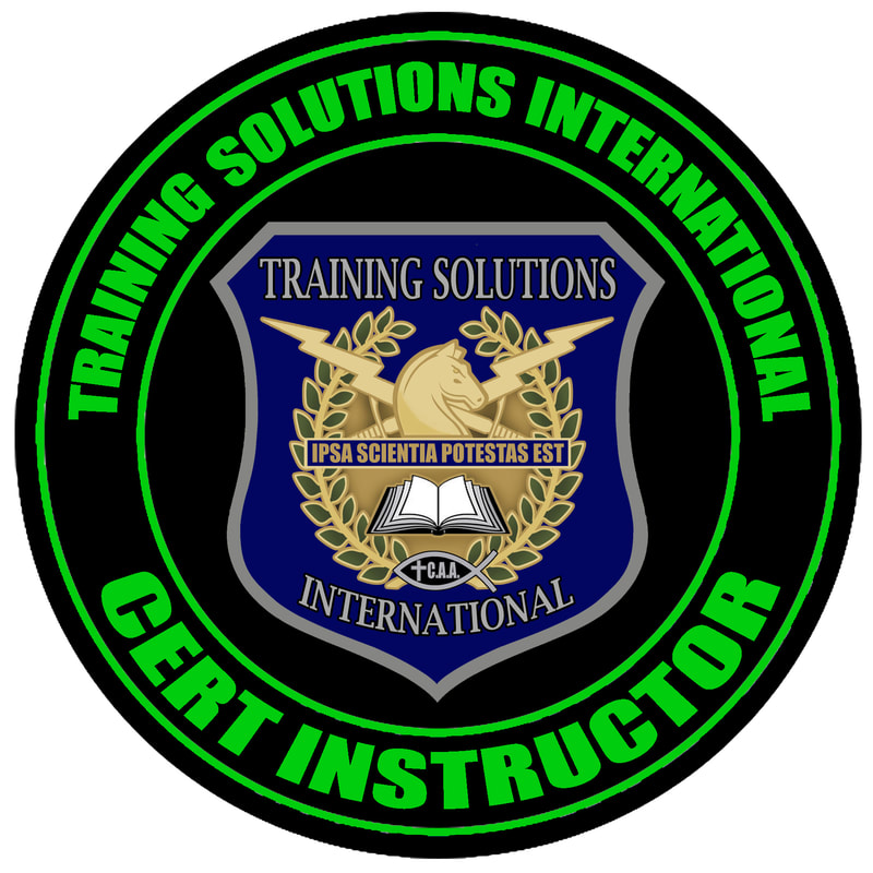 TSI CERT Instructor Emblem